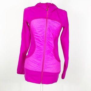Lululemon Pure Balance Jacket Paris Pink size 6